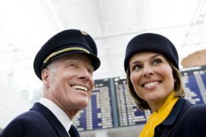 Spanisch für Flugbegleiter und Pilot